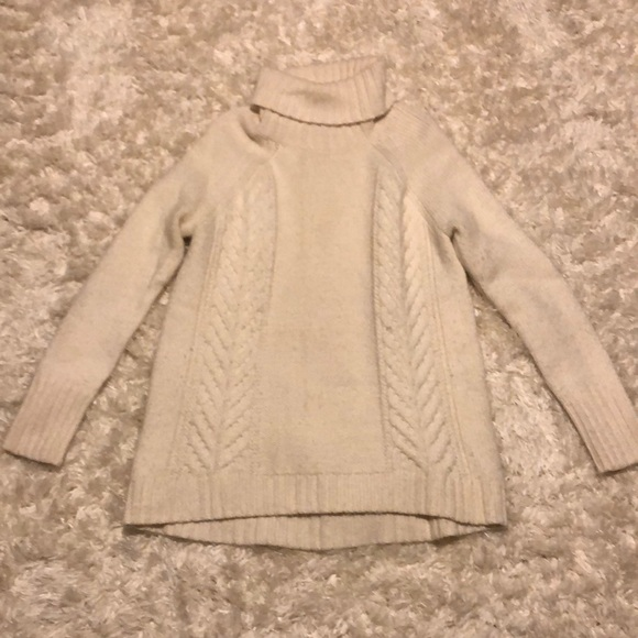 White Knit American Eagle Sweater